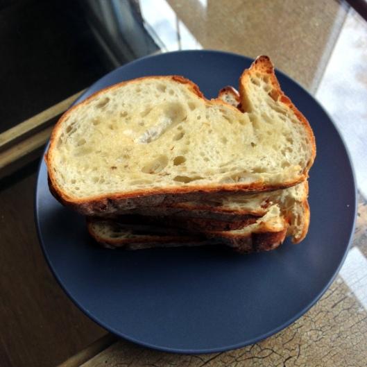 Look! It's bunny bread :)