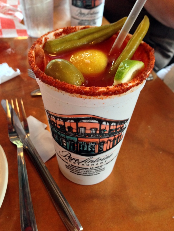 Pickled okra in my Bloody Mary? Yes, please!