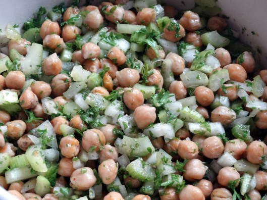 Toasted Chickpea & Parsley Salad