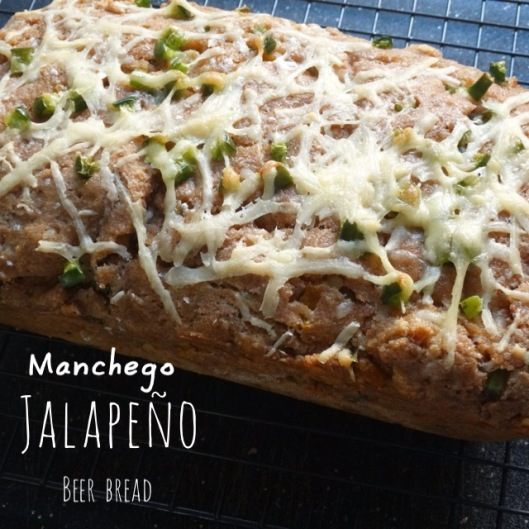 Manchego-Jalapeño Beer Bread | Marta in Chicago