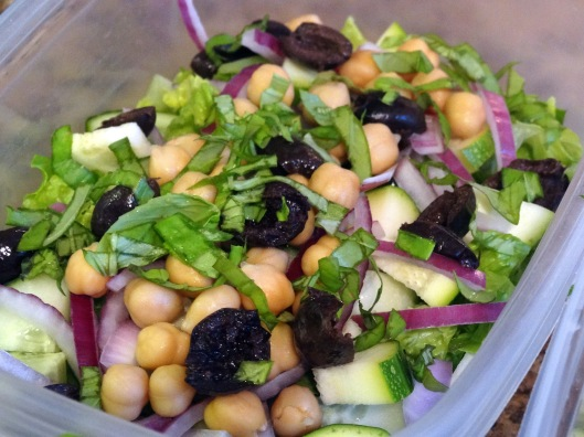 Easy Lunchtime Chopped Italian Salad
