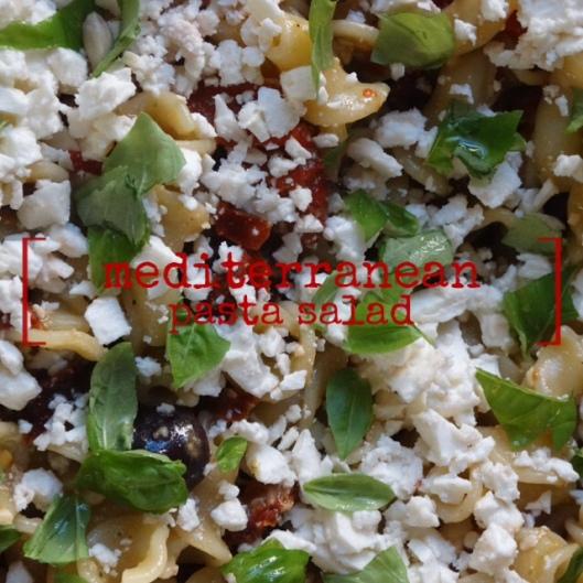 Mediterranean Pasta Salad | Marta in Chicago