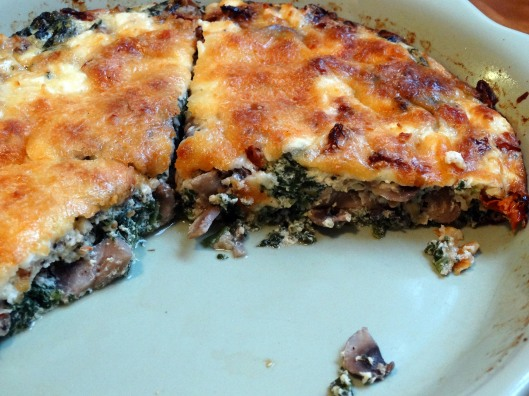 Christmas Morning Crustless Quiche | Marta in Chicago