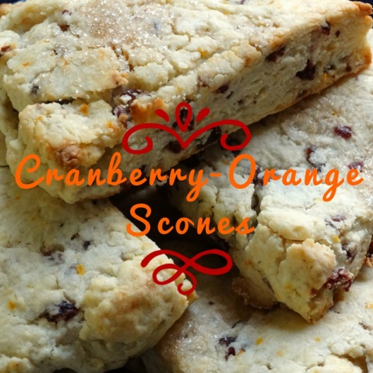 Cranberry-Orange Scones | Marta in Chicago