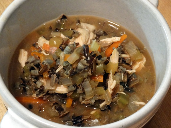 Chicken Wild Rice Soup | Marta in Chicago