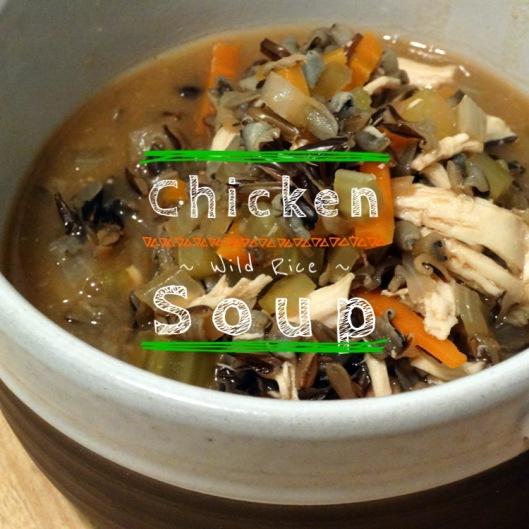 Chicken Wild Rice Soup | Marta in Chicago
