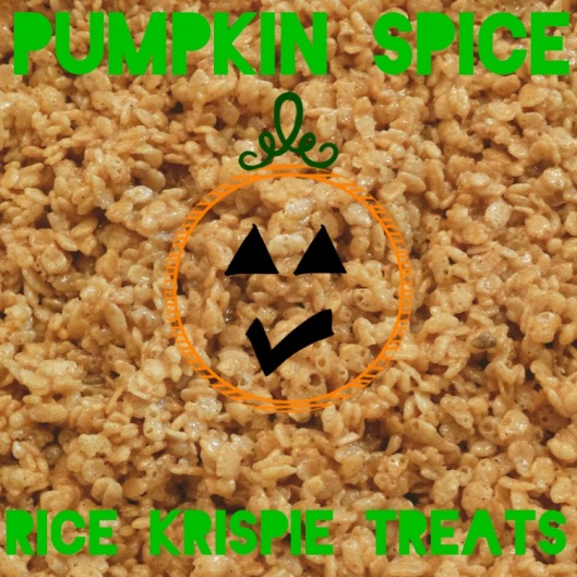 Pumpkin Spice Rice Krispie Treats | Marta in Chicago