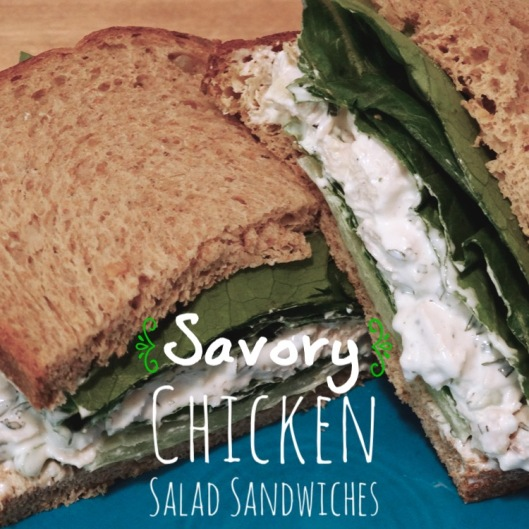 Savory Chicken Salad Sandwiches | Marta in Chicago