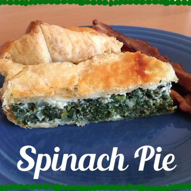 Spinach Pie   Marta in Chicago